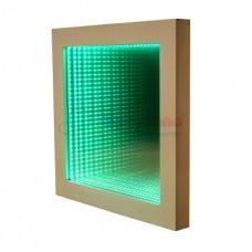 Световое решение для сенсорной комнаты: Световая панель Бесконечность регулировка оттенков и яркости 50х50х7см