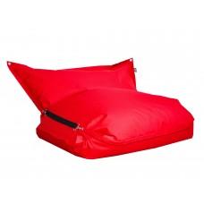 Бескаркасное Кресло-мешок Подушка складная со съемным чехлом из ткани и карабинами для крепления 185х140х20 см