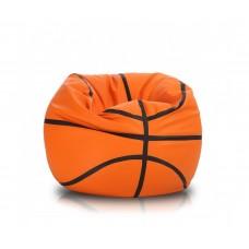 Мягкое Бескаркасное Кресло-мешок Баскетбольный мяч со съемным чехлом, водоотталкивающая ткань Оксфорд D=110 см