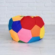 Мягкое Бескаркасное Кресло-мешок Мяч мини со съемным чехлом и ручкой для переноски, ткань Оксфорд, D=50 см