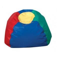 Мягкое Бескаркасное Кресло-мяч со съемным тканевым чехлом и ручкой для переноски, цвет разноцветный D=65 см