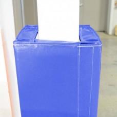 Стеновые протекторы для колонн без монтажа для проведения тренировок и соревнований 100х100х5см (цена за кв.м)