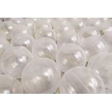 Прозрачный наполнитель для сухих игровых бассейнов в детские игровые комнаты, дома или квартиры шарики 8см
