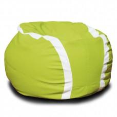 Мягкое Бескаркасное Кресло-мешок Теннисный мяч со съемным чехлом из водоотталкивающей ткани Оксфорд, D=110 см