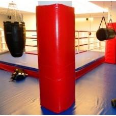 Стеновые протекторы для круглых колонн без монтажа для тренировок и соревнований 100х100х5см (цена за кв.м)