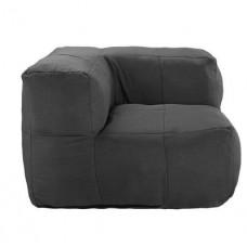 Бескаркасный модульный диван Угловой со съемными чехлами и ручкой для переноски, ткань Оксфорд 90х90х70 см