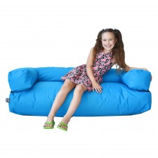 Детский Бескаркасный диван Гарвард со съемным чехлом, Оксфорд 600D, наполнитель пенополистирол 120х40х40 см