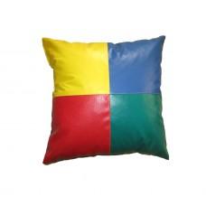 Мягкая детская подушка для отдыха напольная стандарт для квартиры, детского сада или игровых комнат 30х30 см