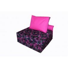 Бескаркасное Раскладное Кресло-кровать со съемным чехлом из ткани Оксфорд и ручкой для переноски 200х100х20 см