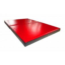 Гимнастический Складной Мат для спортивных залов или домашних тренировок со съемным чехлом 150х100х8 см