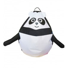 Бескаркасное Кресло-мешок Панда мини со съемным чехлом из ткани Оксфорд 600D и ручкой для переноски 90х60 см