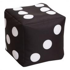 Детский мягкий игровой тренажер куб с аппликациями для изучения основ счета для дома и школы Кости 30х30х30 см