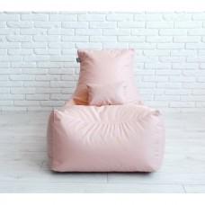 Бескаркасное Кресло Барселона для отдыха со съемным чехлом из ткани Оксфорд 600D, цвет однотонный 90х70х60 см