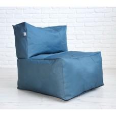 Бескаркасный диван Блэк со съемным чехлом из ткани Оксфорд 600D, наполнитель пенополистирол 80х80х80 см