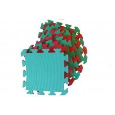 Набор Мягких Ковриков-пазлов - 9 шт., покрытие для спортивных игр и занятий в детских комнатах, ЭВА 30х30х0.8 см