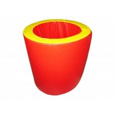 Мягкий спортивно-игровой Тренажер тоннель Цилиндр для детей от 3 лет для дома, игровых центров 100х60х60 см
