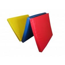Гимнастический Складной Мат для спортивных залов или домашних тренировок с ручкой для переноски 300х100х10 см