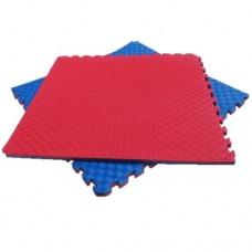 Мат Татами Ласточкин хвост - мягкое покрытие-пазл для спортивных залов площадок, до 100 кг, из EVA 100х100х4 см