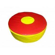 Детский мягкий яркий игровой компактный пуфик для квартиры, школы, дачи или игровой комнаты Фигурка 30х10 см