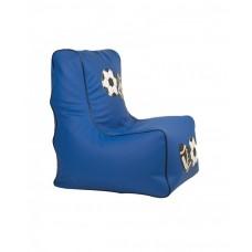Бескаркасное детское Кресло-мешок Спорт со съемным чехлом, плотная набивка, пенополистирол высота спинки 77 см