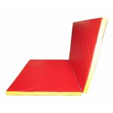 Гимнастический Складной Мат для спортивных залов или домашних тренировок со съемным чехлом 150х100х5 см