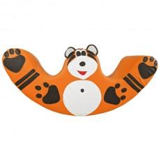 Детская Мягкая игровая Качалка Тигр для одного-двух детей для дома, игровых центров, детсадов 120х30х60 см