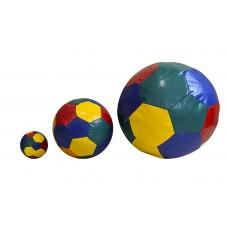 Набор 3-х развивающих мячей для сенсорной комнаты разного диаметра для детей от 1 до 10 лет для квартиры, дома