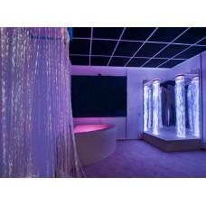 Сенсорная комната Вселенная: настенные и напольные покрытия, световое оборудование, зеркальные поверхности