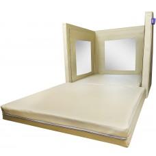 Мягкий Игровой Сенсорный куб Зеркало для детей от 1 года для детских садов и развивающих центров 80х80х80 см