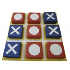 Мягкий крупногабаритный дидактический игровой набор из 9 матов для детей от 1 года для дома Крестики-нолики