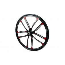 Комплект литых дисков из 2 штук для велосипедных колес размером 26 дюймов на 10 спиц, под дисковый тормоз