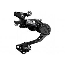 Низкопрофильный Задний переключатель цепи со средней лапкой Shimano Deore RD-M6000 для велосипеда, черный