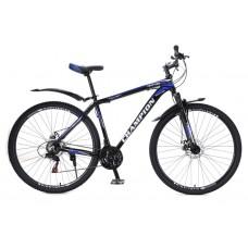 Горный Велосипед Champion Lector взрослый, колеса 29 дюймов, алюминиевая рама 19 дюймов, вес 15кг - Черный-Синий