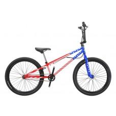 Детский Велосипед Titan BMX ENDO детский колеса 24 дюйма, стальная рама 20.5 дюймов - Красный-Синий-Белый