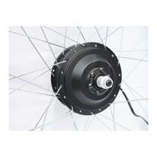 Мотор редукторный MXUS FX-15R для заднего колеса электровелосипеда напряжение 48В, мощность 350Вт, цвет черный
