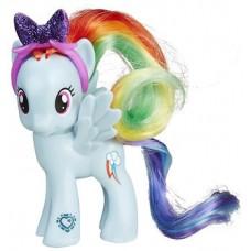 Игровая фигурка для девочек Пони Радуга Дэш с ободком Моя Маленькая Пони - My Little Pony Rainbow Dash, Hasbro