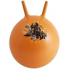 Мяч-Попрыгун для детей надувной, с двумя ручками D=45-50см Звездные войны, Самбро, цвет: оранжевый - Sambro