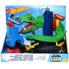 Детский Игровой Набор Хот Вилс Гоночная Трасса Трек Укус Кобры с рычагом и одной машинкой Hot Wheels Mattel 58180-14 tst-830844674