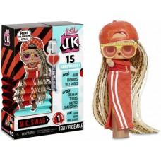Игровой набор: мини-кукла ЛОЛ МC Свэг русые волосы, растущая обувь, 15 сюрпризов - LOL Surprise! JK MC Swag Mini