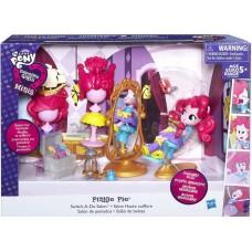 Детская Игровая Мини-Кукла для девочек Салон Красоты Пинки Пай EQUESTRIA GIRLS MINI My Little Pony от HASBRO