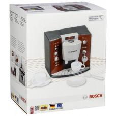 Детский Игрушечный Кофейный аппарат с 2 чашками, блюдцами и ложками, звук, красный - Mini Bosch Espresso Klein 59100-14 tst-609576212