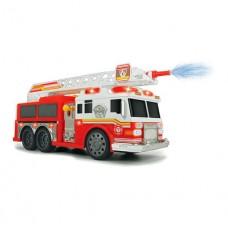 Детская Игрушка для мальчиков Пожарная машина Командор со светом, звуком и водными эффектами, 36см - Dickie Toys