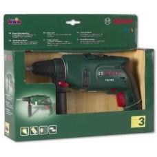Игрушечная Безопасная Дрель Bosch для мальчиков с вращающимся сверлом, световыми и звуковыми эффектами, Klein