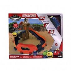 Игровой набор для мальчиков Железнодорожный трек и паровозик Брюстер Каменный путь Чаггингтон Chuggington-Tomy