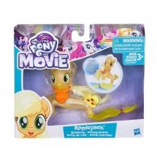 Игровой Набор для девочек Пони-русалка Эпплджек и украшение-ракушка Applejack Seapony - My Little Pony, Hasbro