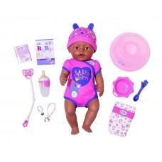 Детская Игровая Кукла Беби Бон Очаровательная малышка Ethnic мулатка в розовом 43 см Baby Born Zapf Creation