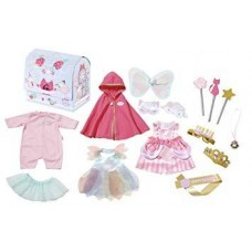 Набор Костюмов для вечеринки для детской игровой Куклы Бэби Аннабель 11 штук Zapf Creation Baby Annabell