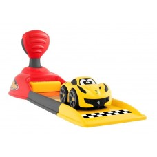 Детский Игровой Набор Трек Ferrari Launcher, Машина Феррари, Пусковая Установка, 4 конуса, 1 кубок CHICCO Чико