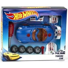 Детский Игровой Набор для Тюнинга Хот Вилс с автомобилем, отверткой и частями авто Hot Wheels Klein Кляйн