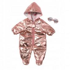 Блестящий Зимний Костюмчик с Комбинезоном Для Детской Игровой Куклы Бэби Аннабель Baby Annabell Zapf Creation
